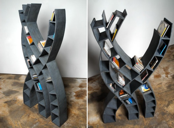 compact-bookshelf-Francesco-Passaniti-Bibliotheque Tree
