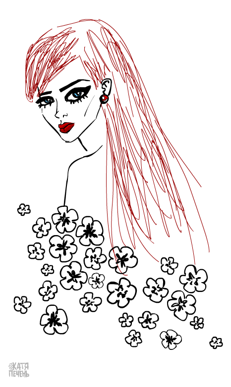 woman-red-hear-picture