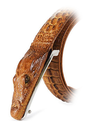 genuine-Leather-Belts-Crocodile-Buckle-Alligator