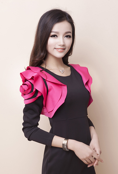 china-girl-in-dress-rose