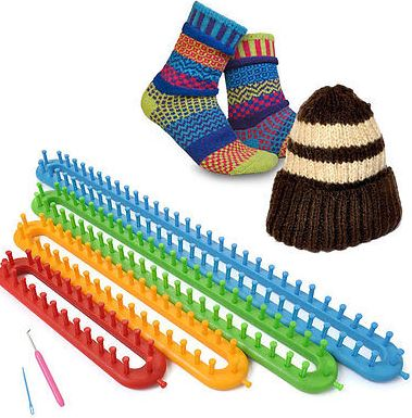 Plastic-Knitting-Loom