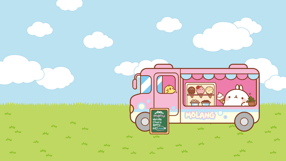wallpaper-molang-bus